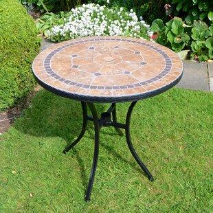 Brevard Steel Bistro Table By Sol 72 Outdoor