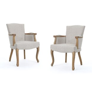 Prejean Upholstered Dining Chair (Set of 2) by One Allium Way