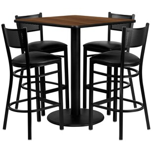 Red Barrel Studio Suraj 5 Piece Pub Table Set