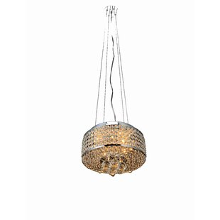 Husband 4-Light Crystal Chandelier by House of Hampton