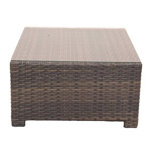 Cribbs Wicker Coffee Table by Highland Dunes New