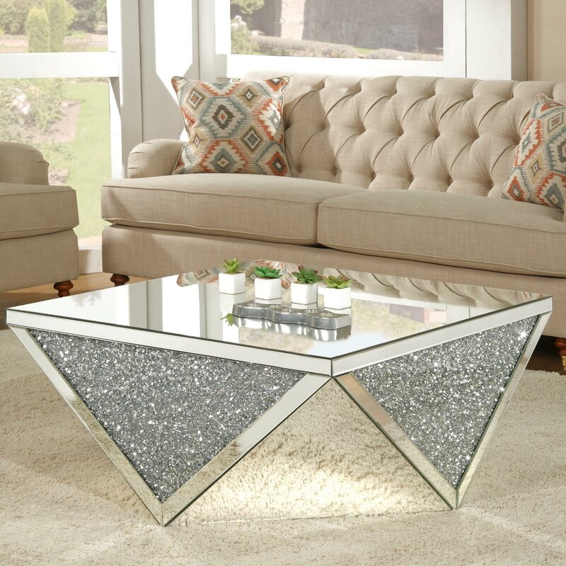 mirrored coffee tables coffee and side tables side tables coffee tables modern coffee table table design exclusive design luxury interior mirrored coffee tables Mirrored Coffee Tables to Upgrade Your Living Space Blaker Mirrored Coffee Table