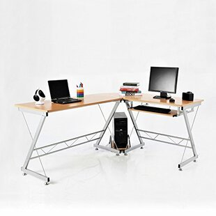 Latitude Run Jalen L Shaped Workstation C..