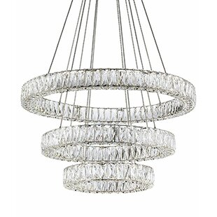 Radionic Hi Tech Spectrum 3-Light LED Chandelier