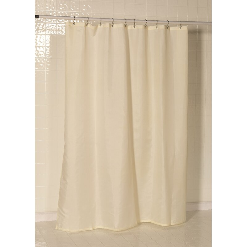 Three Posts Berning Nylon Single Shower Curtain Liner Reviews