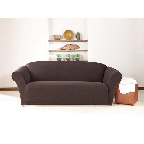 Sure Fit Box Cushion Sofa Slipcover Amp Reviews Wayfair