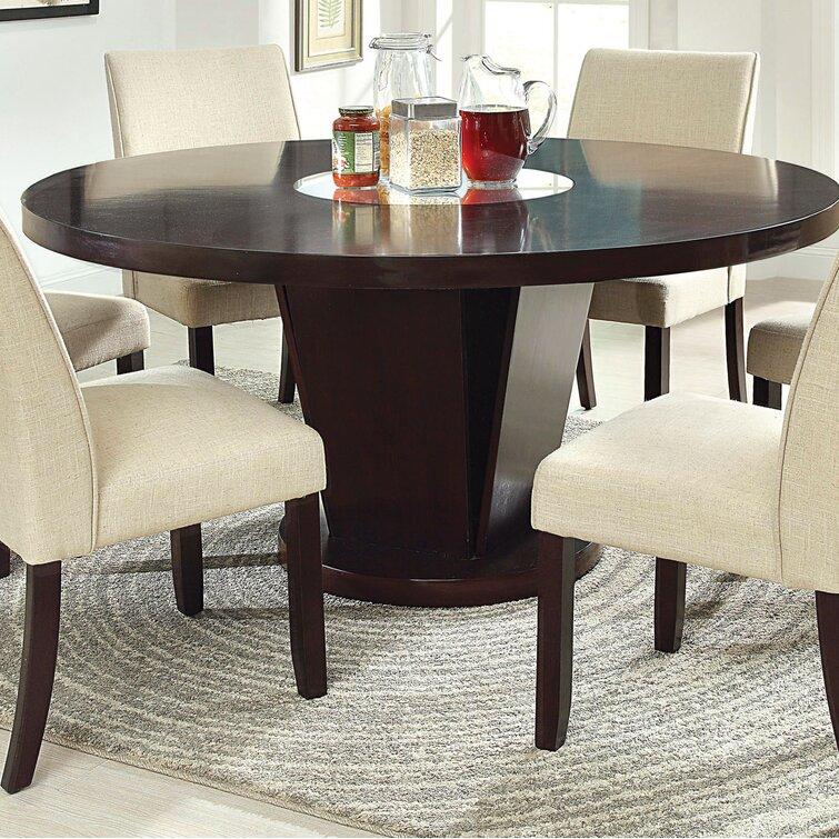 Hokku Designs 60 Pedestal Dining Table Reviews Wayfair