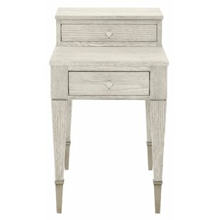 Bernhardt Domaine End Table with Storage