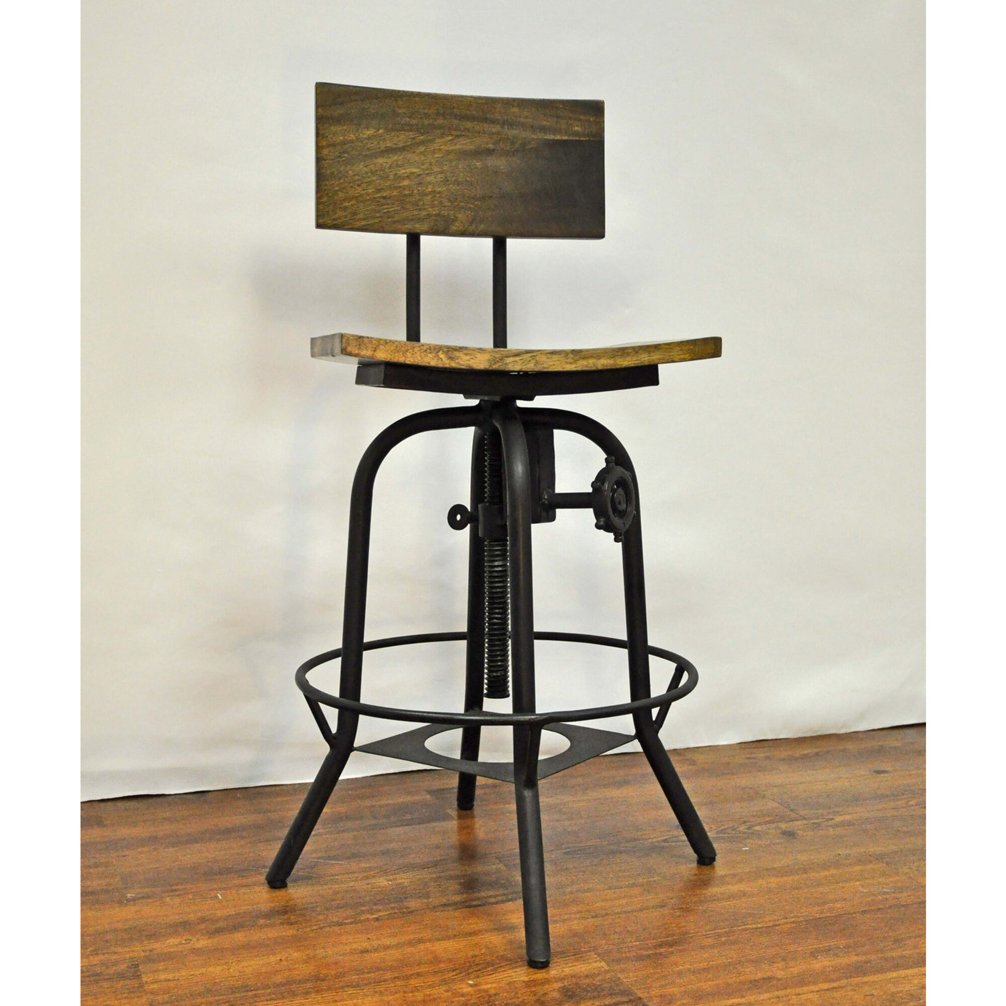 Cool Mott Street Adjustable Swivel Bar Stool Machost Co Dining Chair Design Ideas Machostcouk