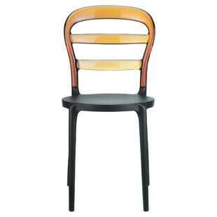 Nickell Stacking Patio Dining Chair (Set of 2)