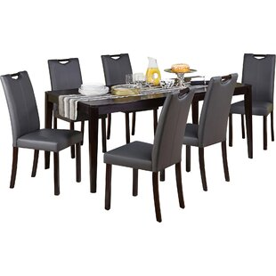 Cox 7 Piece Dining Set Latitude Run