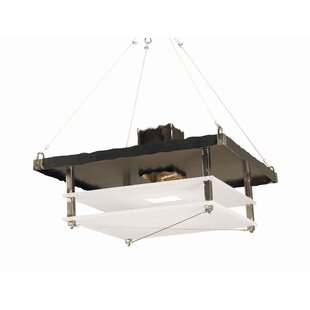 Metropolis 2-Light Square/Rectangle Pendant by 2nd Ave Design