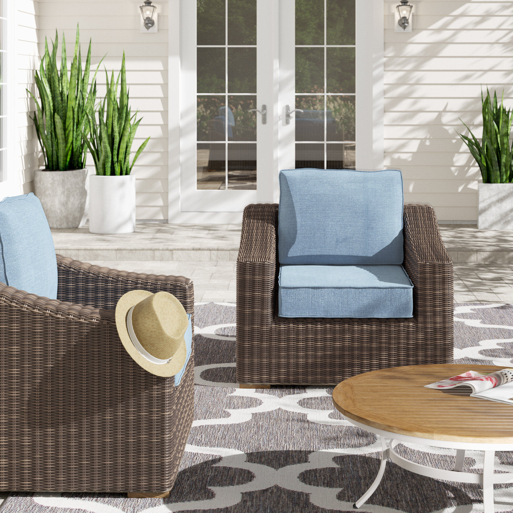 La Z Boy New Boston Patio Chair With