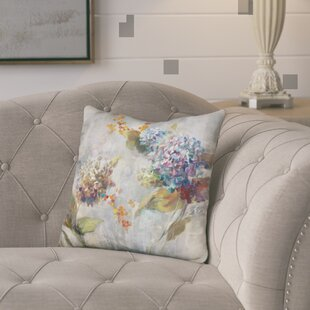 Jozwiak Autumn Hydrangea Throw Pillow