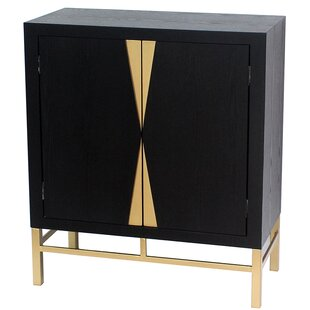 Teton Home 2 Door Storage Accent Cabinet