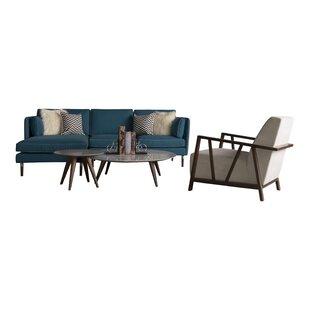 Look for Shelburne 4 Piece Living Room Set by Corrigan Studio Reviews (2019) & Buyer's Guide