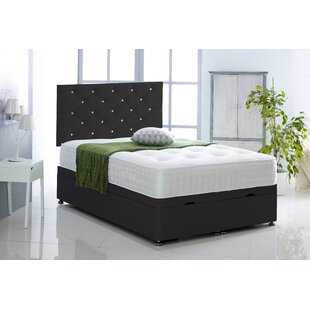 Juarez Upholstered Ottoman Bed With Mattress By Ebern Designs