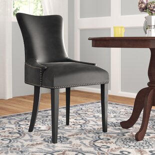 Riyan Vinyl Dining Chair