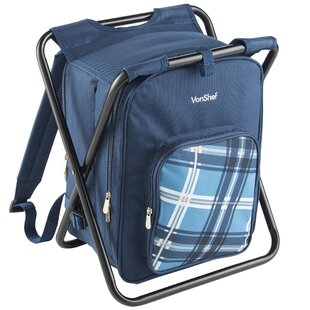 2-in-1 Blue Picnic Backpack