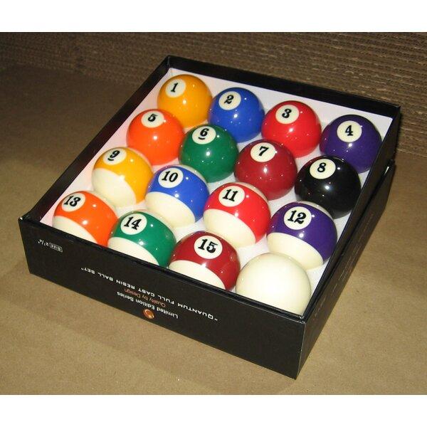 sc 1 st  Wayfair & Mr. Billiard Pro Action Pool Ball Set | Wayfair