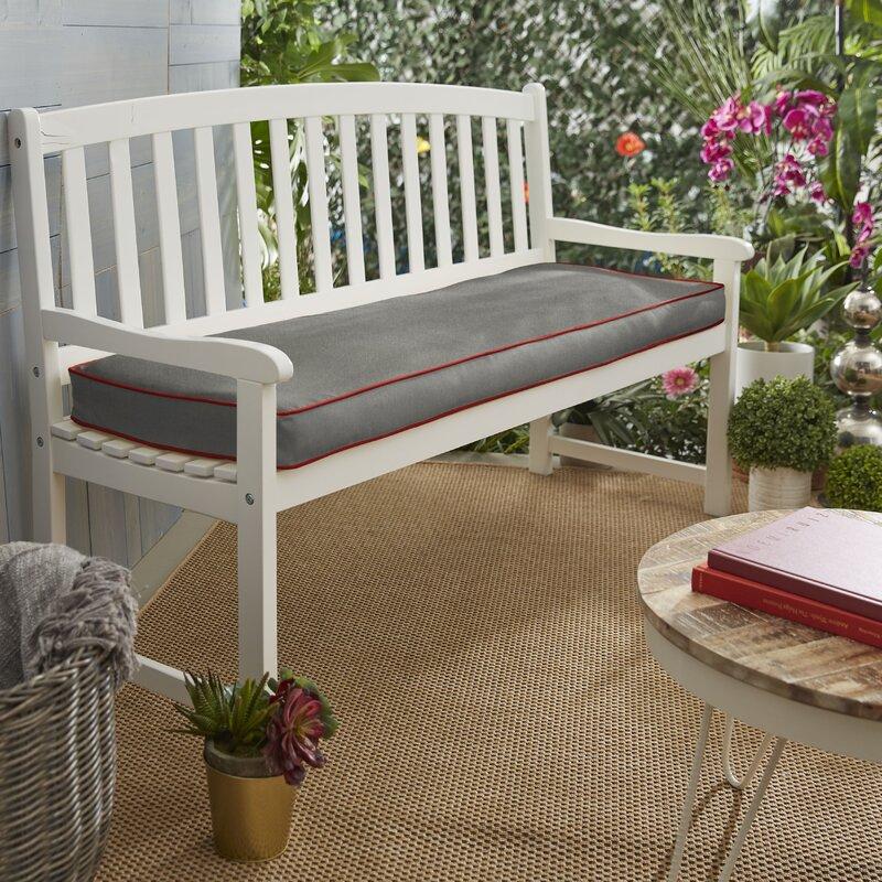 Mozaic Company Indoor Outdoor Sunbrella Bench Cushion Wayfair