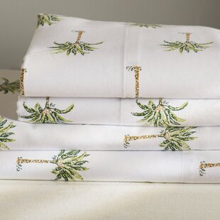 Palm Tree 300 Thread Count Cotton Sheet Set