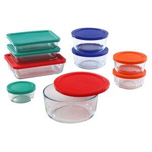 Storage Plus 9 Container Food Storage Set