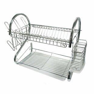 Pal HomeGoods 2 Tier Compact Dish Rack
