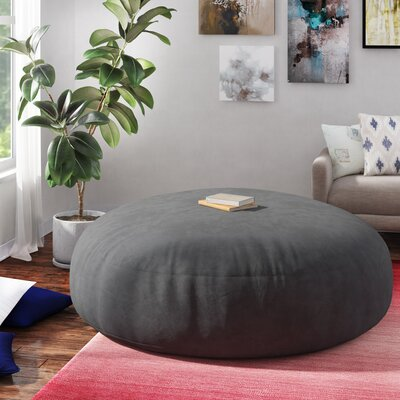 Strange Three Posts Bean Bag Sofa Upholstery Microsuede Charcoal Unemploymentrelief Wooden Chair Designs For Living Room Unemploymentrelieforg