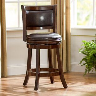 Westerman Bar & Counter Swivel Stool by Charlton Home