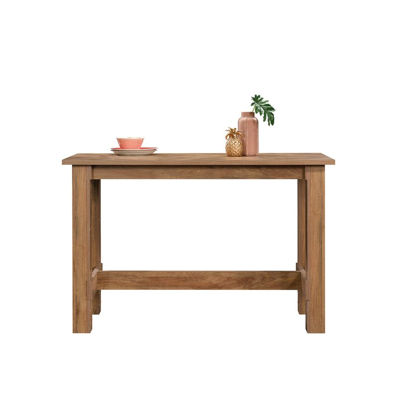 White Cane Outdoor Furniture, Loon Peak Malott Counter Height Dining Table Wayfair