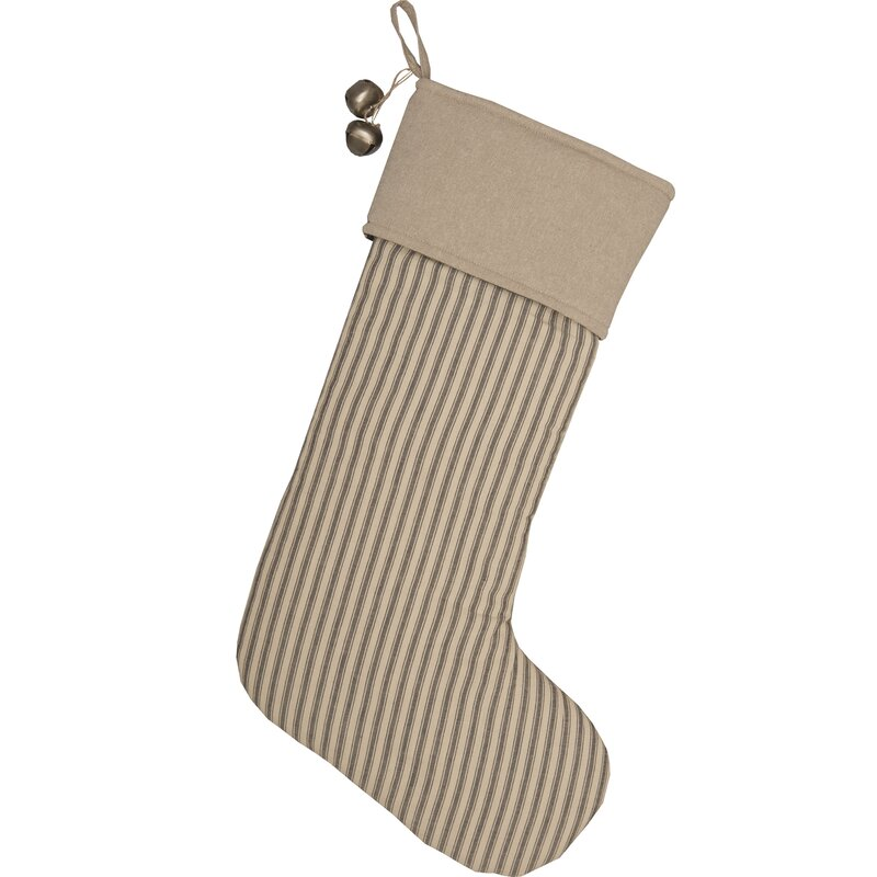 Reuben Ticking Stripe Stocking