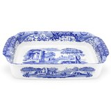 Blue Italian Handled Serving Tray by Spode