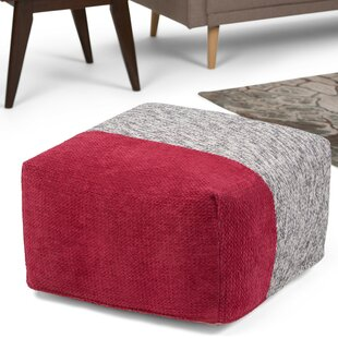 Modbury Pouf Ottoman by Wrought Studio
