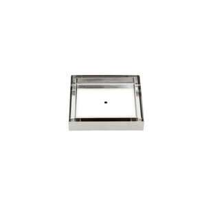 Soleil Stainless Steel Tile Insert Square 2