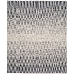 Margie Hand-Woven Navy/Ivory Area Rug