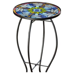 Sawyerville Dragonfly Side Table by Charlton Home Looking for