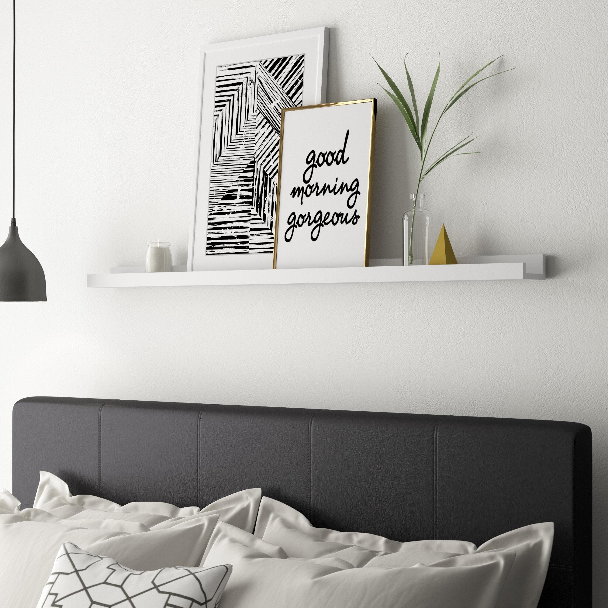 Zipcode Design Milner Wall Shelf Reviews Wayfair