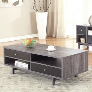 Fink Coffee Table with Tray Top