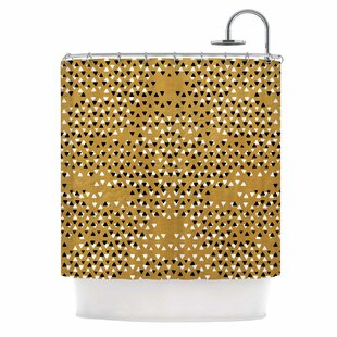 Golden Sky Single Shower Curtain