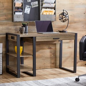 rustic desks you'll love | wayfair