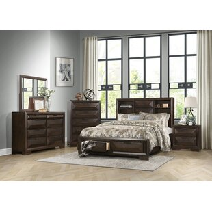 Wrought Studio Boos 8 Drawer Dresser with Mi..