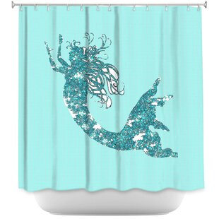Bellingham Mermaid II Shower Curtain By Harriet Bee