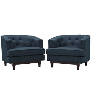 Modway Coast Barrel Chair (Set of 2)