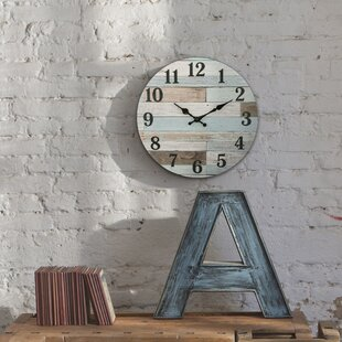 Roseanne Vintage 14 Wall Clock by Highland Dunes
