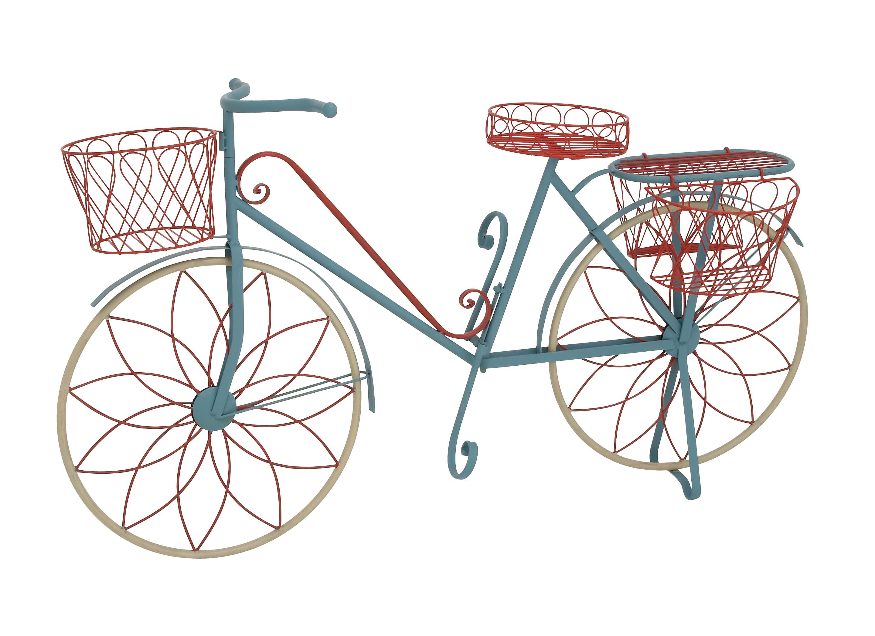 Lutie Metal Bike Plant Stand Reviews Joss Main