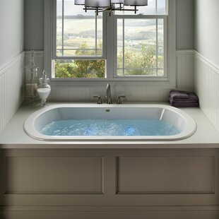 "Duetta 72"" x 42"" Drop In/Undermount Combination Bathtub"