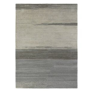 Yeti Hand-Knotted Grey Area Rug by Brink & Campman