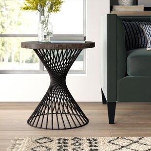 Abigail End Table by Mistana