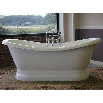 "Empress 68"" x 30"" Freestanding Soaking Bathtub"